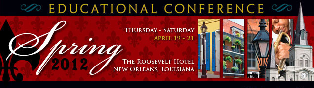 2012 Spring Educational Conference Recordings